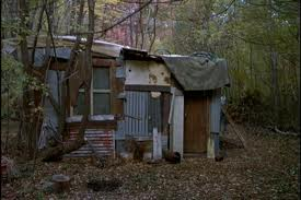 Jason's shack from Friday the 13th Part II aka Movies At Dog Farm Headquarters