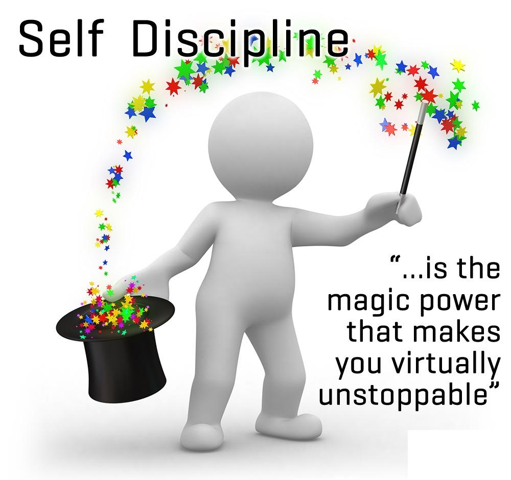 developing self discipline Strategies for success self-management    110 developing self-discipline once i accept responsibility for choosing and creating the life i want, the next step is taking purposeful actions.