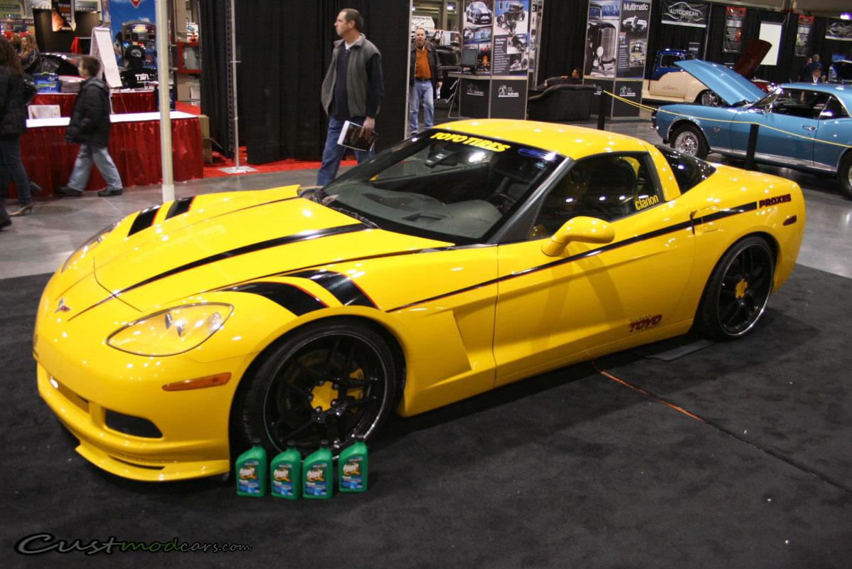 Yellow Modified Corvette C6 | Custmod Cars