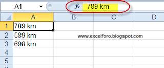 Extraer valores de un alfanumérico y sumarlo en Excel.