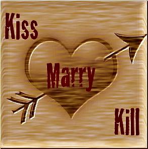Kiss, Marry, Kill - FlirtyGame
