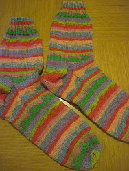 Simple Socks For Mum