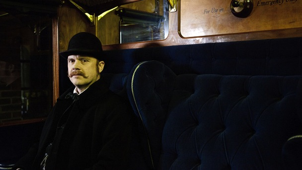 Docudrama Murder on the Victorian Railway BBC2