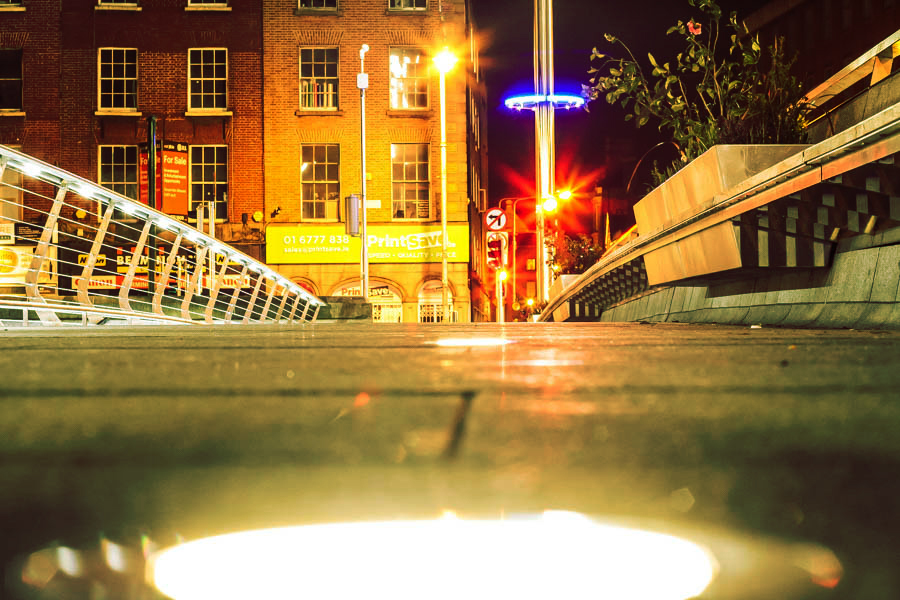 Dublin at Night - Long Exposure