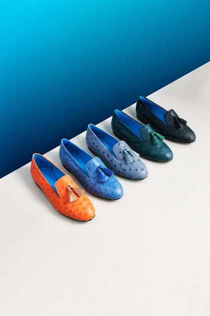 luxury smoking slippers