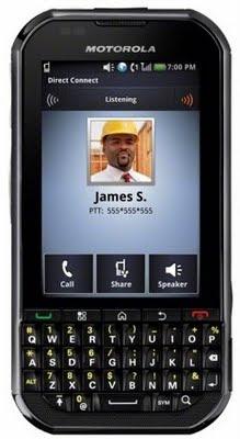new Motorola Titanium Android Smartphone