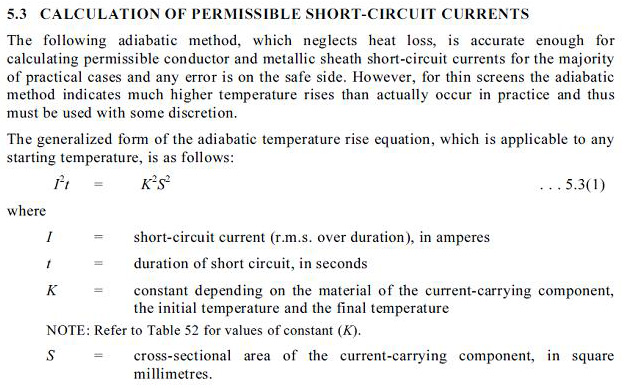 Guide to electrical engineering october 2012 operating temperature of conductor calculated above 60oc taken as 90oc which is the maximum operating temperature of xlpe conductor greentooth Images