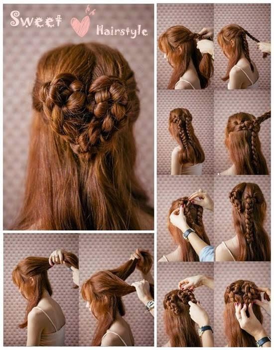 Sweet Hair Style Tutorials