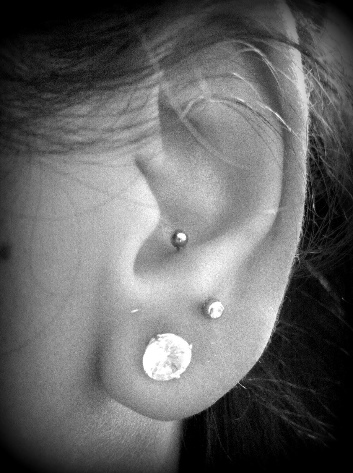 Piercings and Tattoos Ear Piercings Anti Tragus