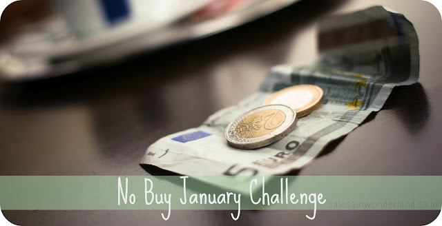 no buy january challenge