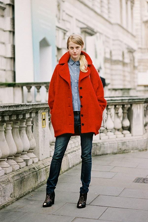 Vanessa Jackman London Fashion Week Aw 2013 Lauren