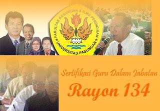 JADWAL PLPG SERTIFIKASI GURU RAYON 134 UNPAS TAHUN 2013