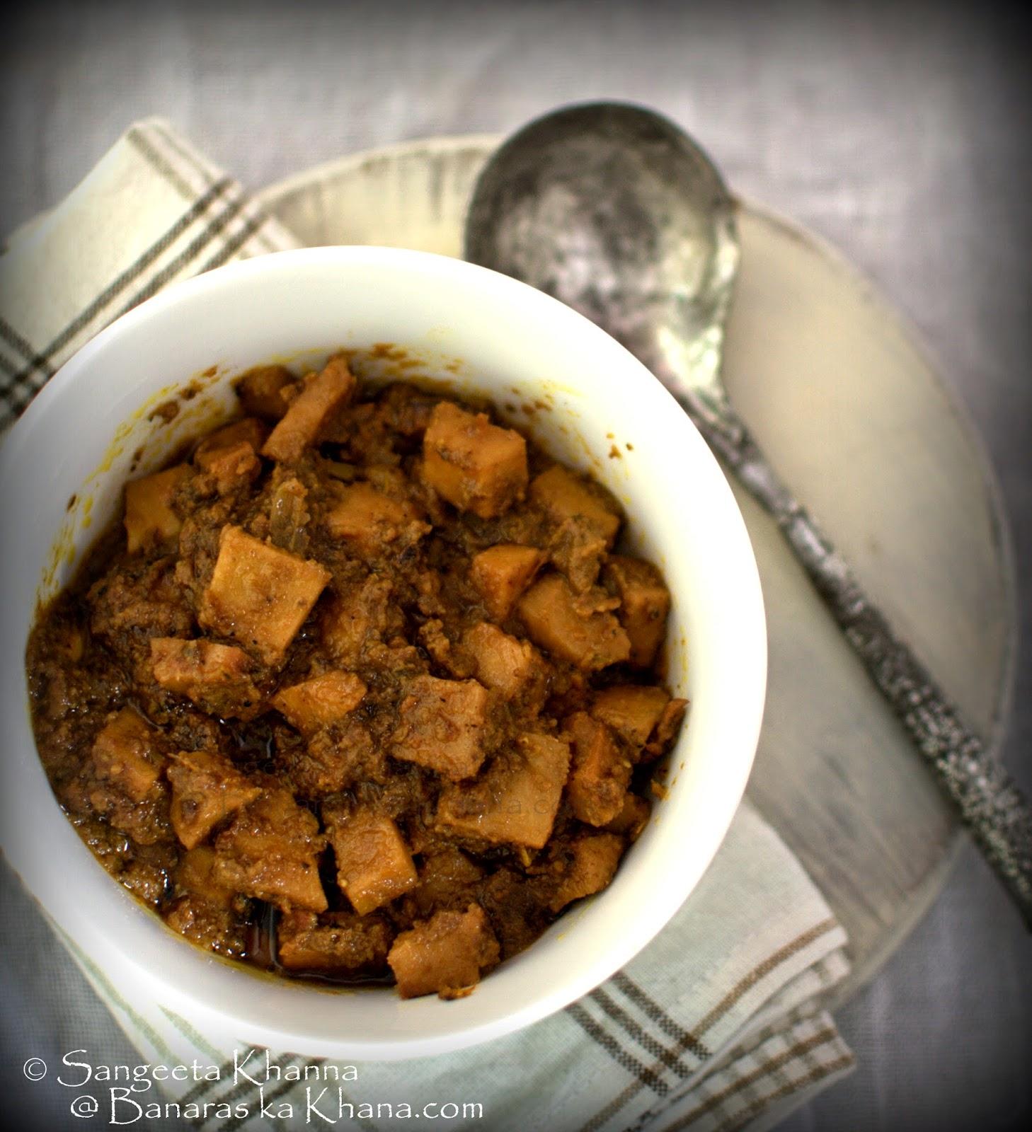 sooran ki subzi for diwali : the tradition of eating sooran on diwali
