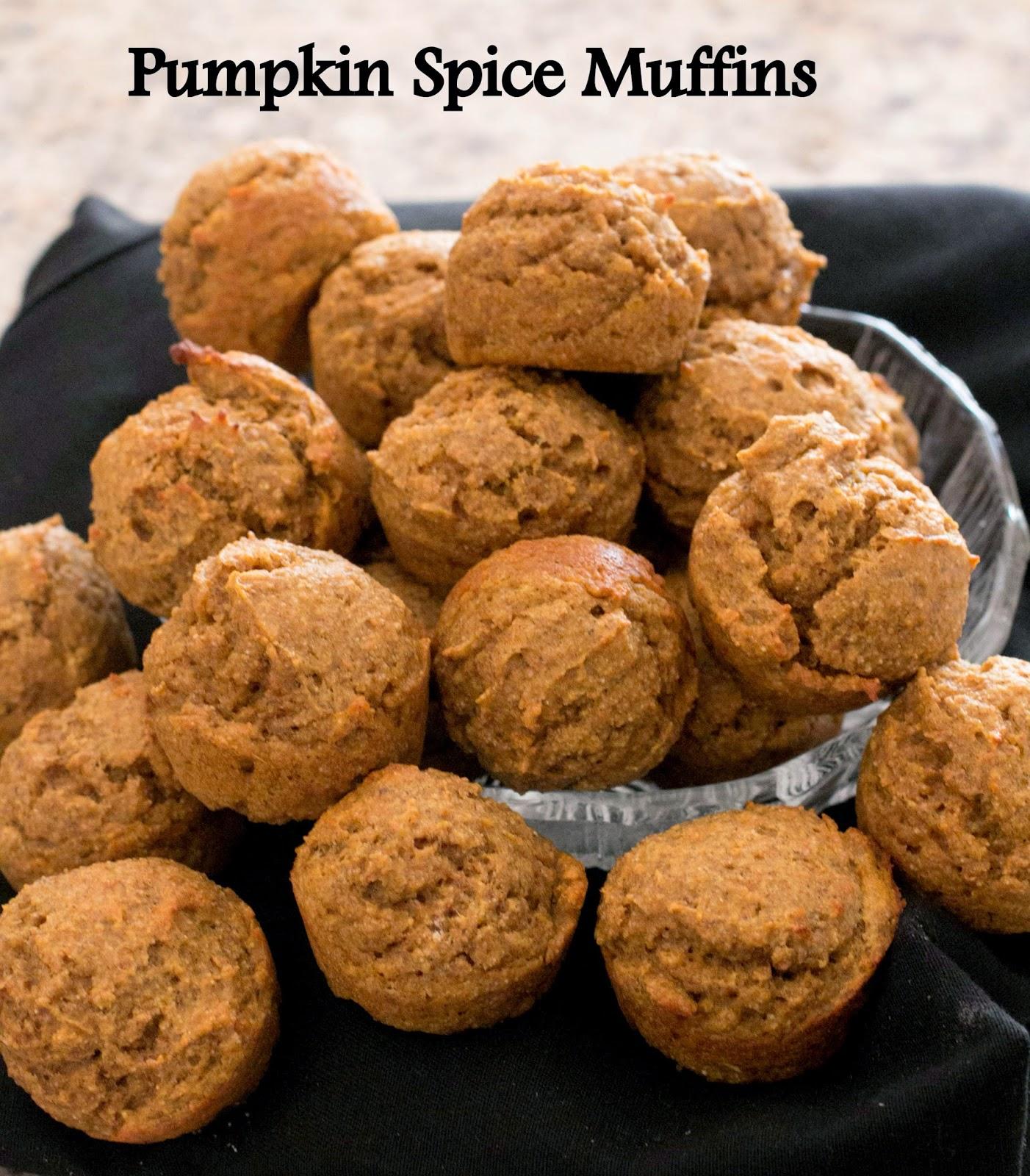 Grain Crazy: Pumpkin Spice Muffins