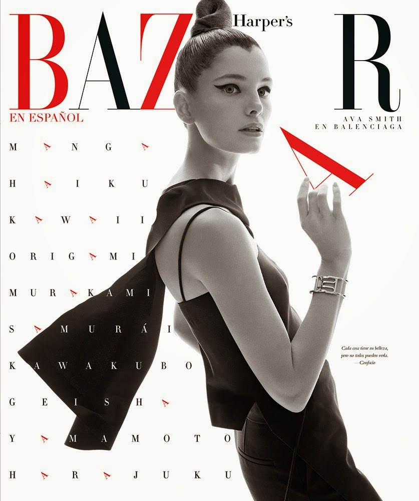 Fashion Model @ Ava Smith by Xevi Muntane for Harper's Bazaar México & Latam, March 2015