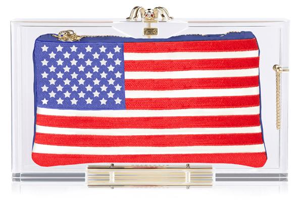 Charlotte Olympia Hat Trick Pandora box clutch USA