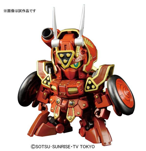 SDBF Kurenai Musha Amazing official image 00
