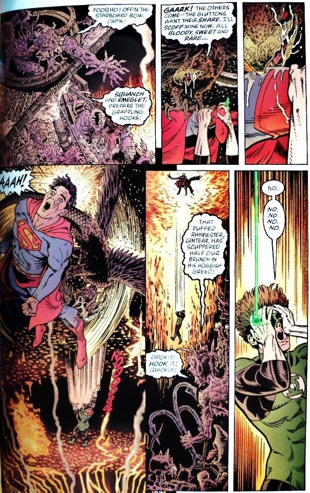 Green Lantern / Superman: Legend of the Green Flame - Neil Gaiman