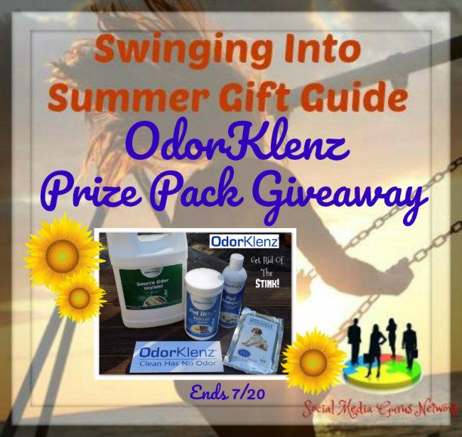 Odor Klenz Prize Pack Giveaway