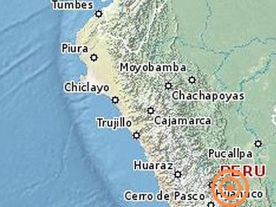 Un sismo de 5,4 grados en la escala de Richter se registró en el centro de Perú, informó el Instituto Geofísico (IGP), el 15 de Julio 2013
