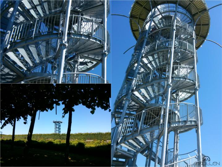 Wieża widokowa w Ogrodach Hortulus Spectabilis