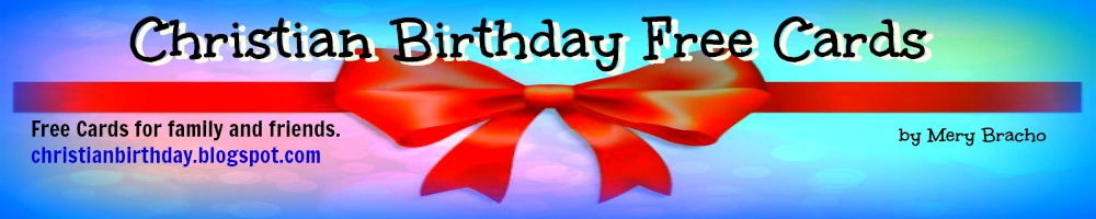 Christian Birthday Free Cards
