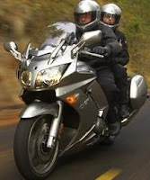 2011 Yamaha FJR1300A on road