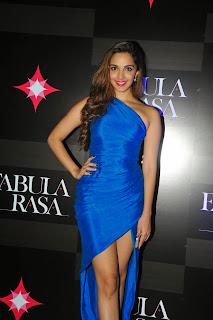 Kiara Advani in Gorgeous Blue Gown at Fabula Rasa Store Launch Mumbai