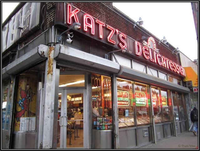 Resto Katz's Delicatessen New York Pastrami Houston Street