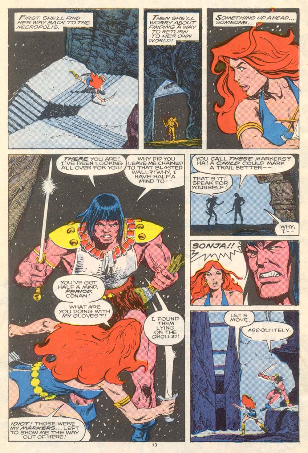 Conan the Barbarian (1970) Issue #205 #217 - English 14