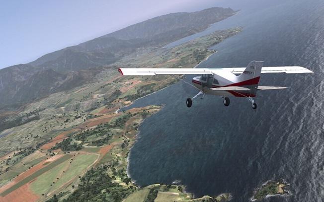 Microsoft Flight simulador jogo PC