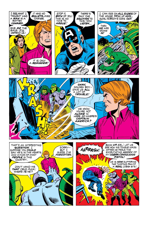 Captain America (1968) Issue #163 #77 - English 15