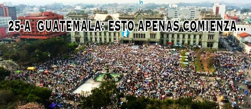 Guatemala dijo YA BASTA!