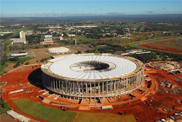 Inauguração do Estádio Nacional de Brasília é adiada novamente pelo GDF