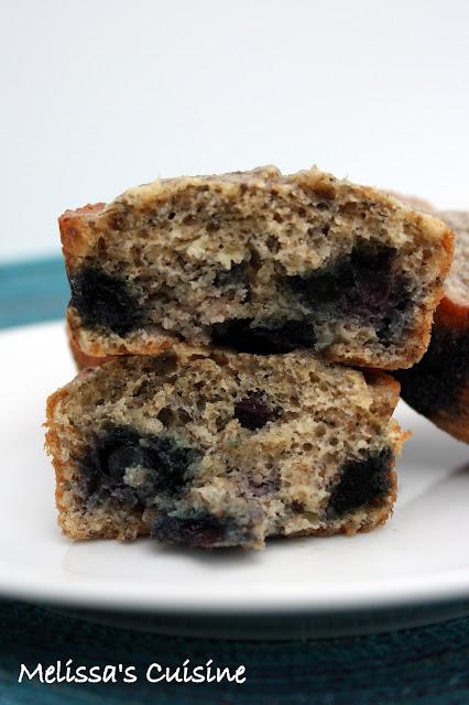 Melissa's Cuisine: Blueberry Banana Muffins