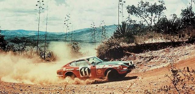 Nissan Fairlady Z (S30), rajdy, datsun 240z, szuter, wyścigi, sport, japoński sportowy samochód, klasyk, nostalgic, stary, oldschool, znany, kultowy