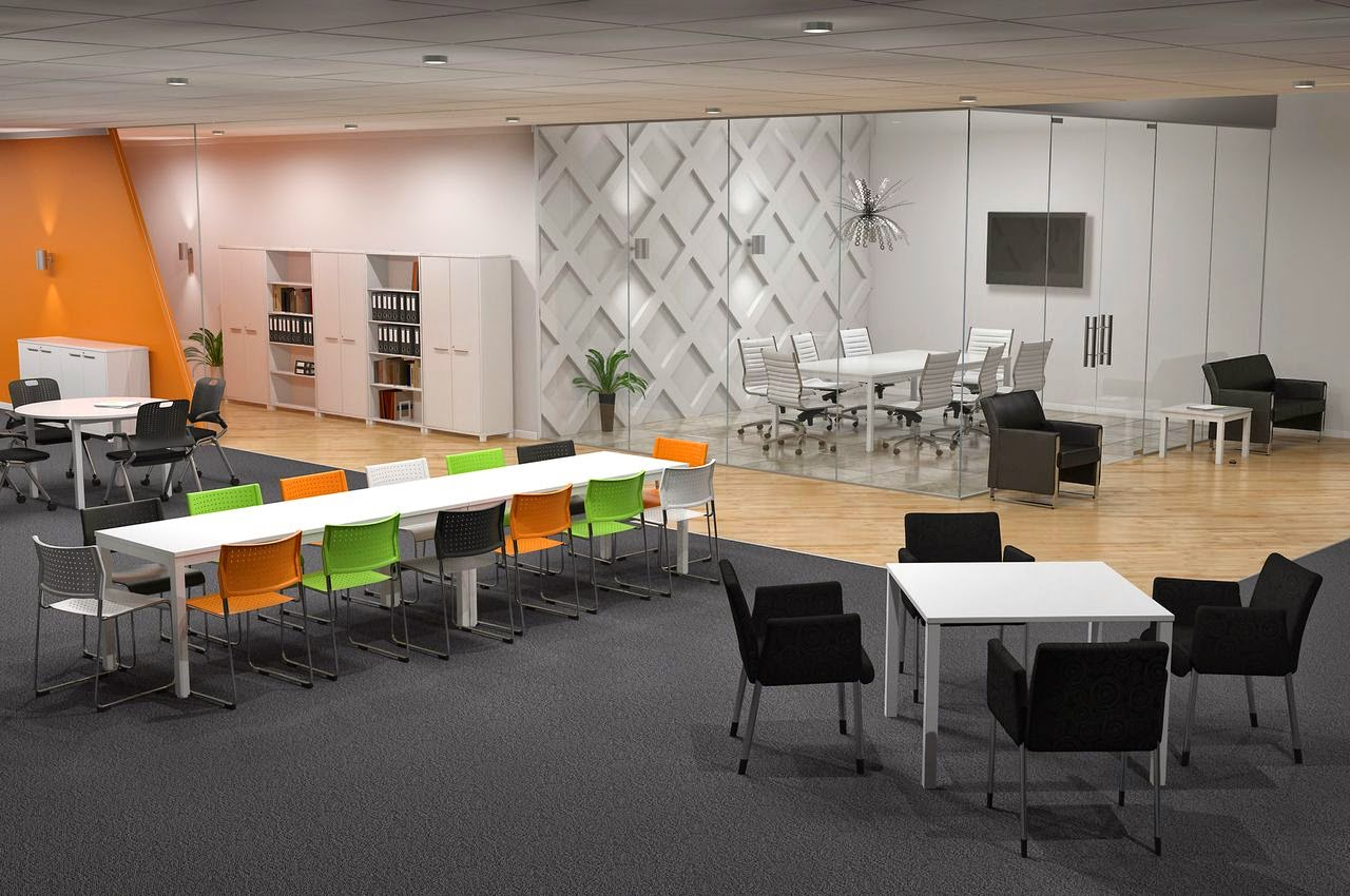 Office furniture Shared office space design