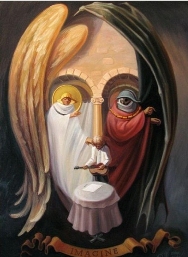 Oleg Shuplyak 1967 | pintor ilusionista óptico