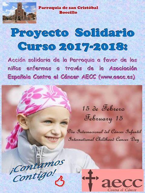 PROYECTO SOLIDARIO 2017/2018