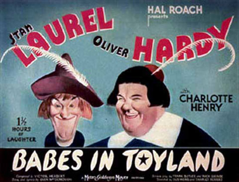 babes in toyland1934 this laurel and hardy classic also known as march of the wooden soldiers was a favorite of mine as a kid - Best Classic Christmas Movies