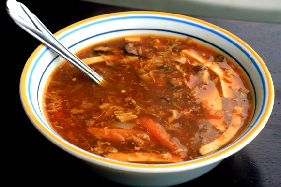 Chinese Spicy Hot And Sour Soup ~ David deSouza