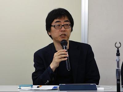 「マガジン航」編集人 仲俣暁生氏