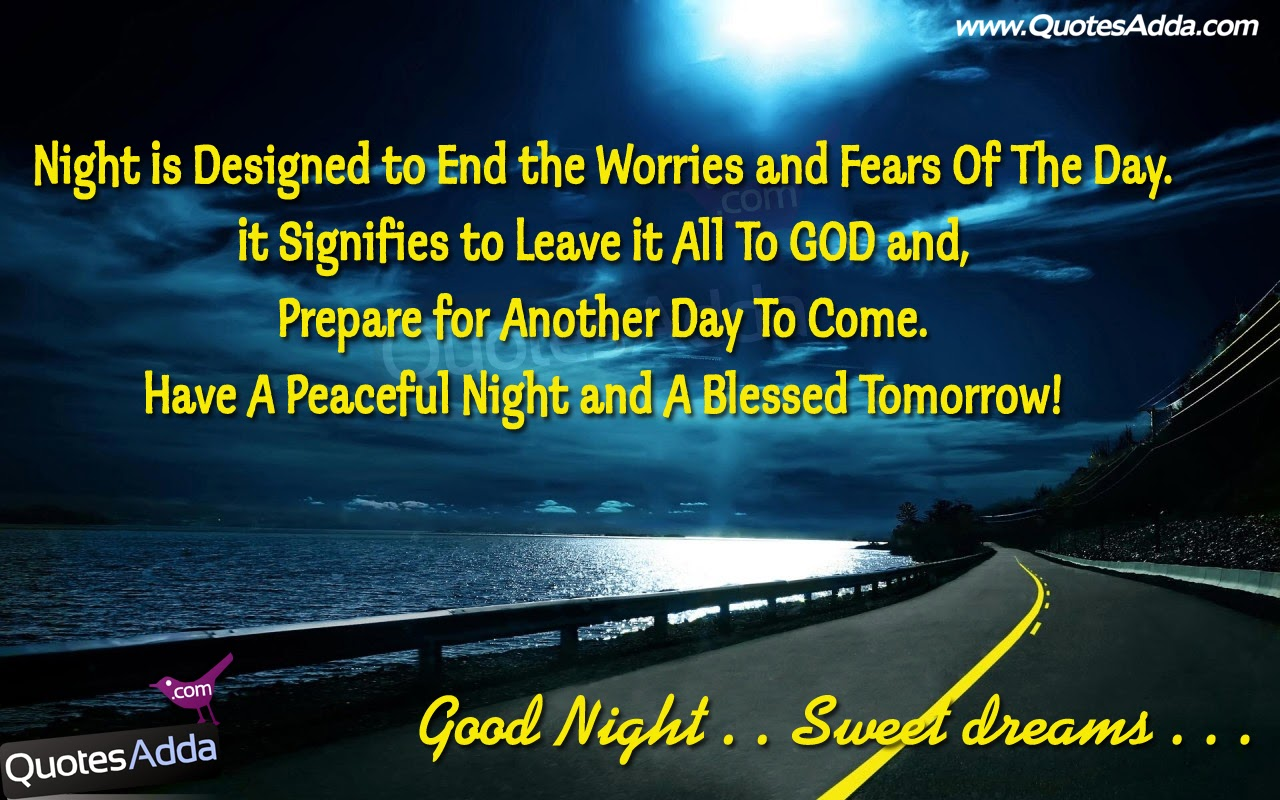 Quotes About Good Night Wishes. QuotesGram