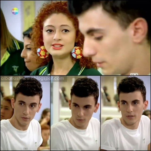 "Bertan Asllani in the turkish series ""Pis Yedili"""