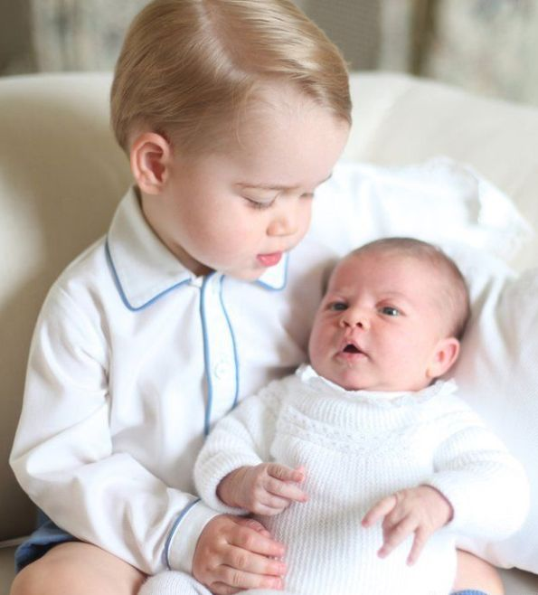 The New Photos Of Baby Princess Charlotte And Her Toddler Brother Prince George