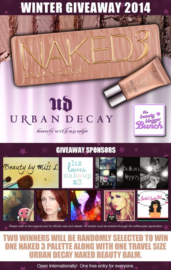 Beauty Blogger Bunch Winter Giveaway