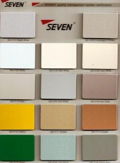 aluco seven aluminium composite panel harga aluco. Black Bedroom Furniture Sets. Home Design Ideas