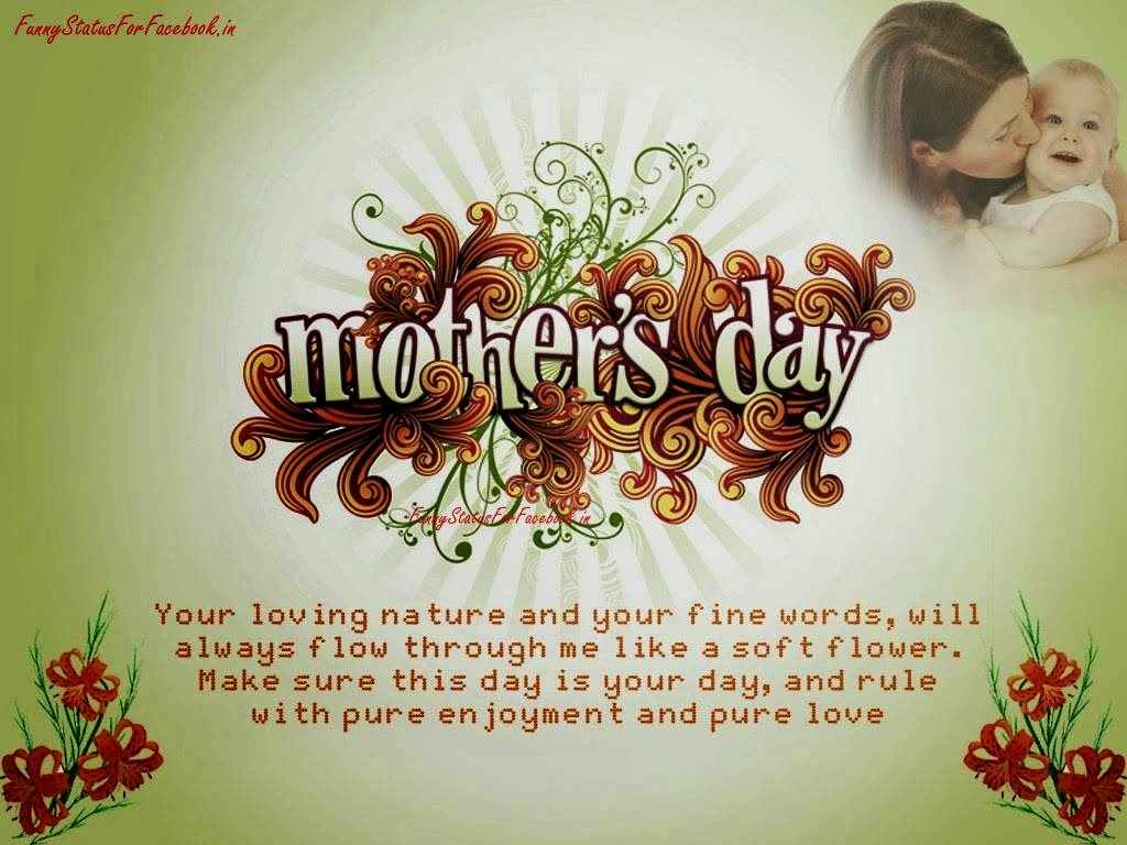 All Wishes Message Greeting Card And Tex Message Mothers Day