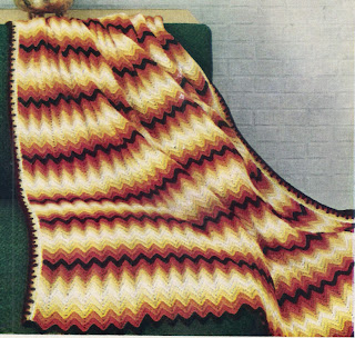 Country Fair Chevron Crochet Pattern