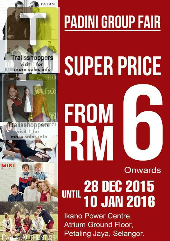Padini Group Fair Sale Malaysia 2016